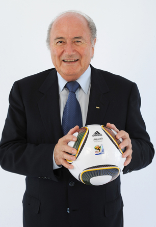 FIFA President Joseph S. Blatter launches Twitter page