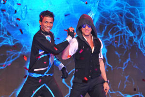 IGT finals with shahrukh